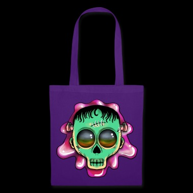 Cute Skulls Franky - Tote Bag