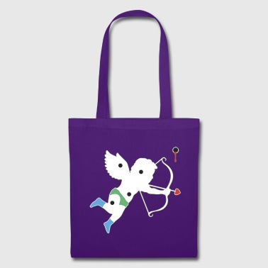 El Cupid Bullet Hole - Tote Bag