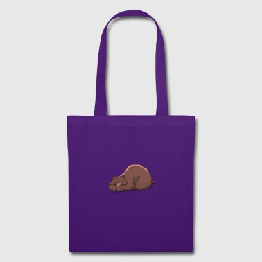 ours endormi - Tote Bag