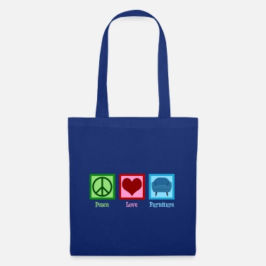 Mover Peace Love Furniture - Tote Bag