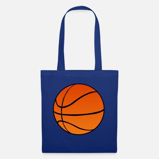 Basket Bags & Backpacks - ball basketball basket ball 2211 - Tote Bag royal blue