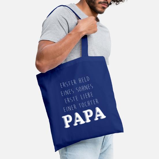 Meisten Menschen Papa Baumwollbeutel Beutel Jutebeutel Tasche Spruch Vater Kind