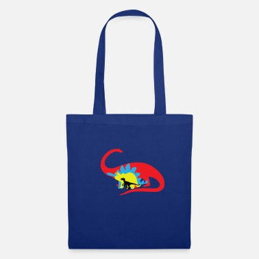 Colourful Dinosaurs - Tote Bag