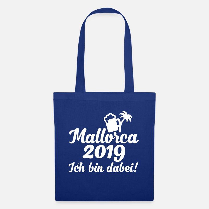 Loma Laukut ja reput - Mallorca 2019 JGA-juhlatilaisuus - Kangaskassi  kuninkaallinen a4eb786a57
