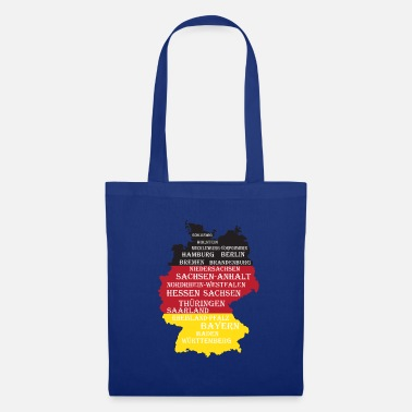 Federal State Federal States Germany flag borders - Tote Bag