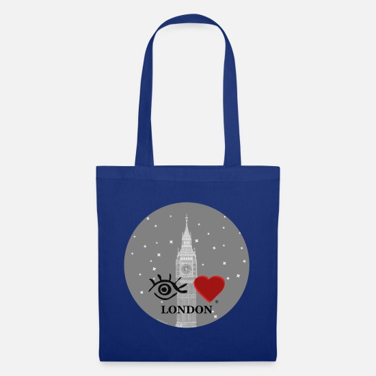 Big Ben Bags & Backpacks - Eye-Love 'London - Big Ben' - Tote Bag royal blue