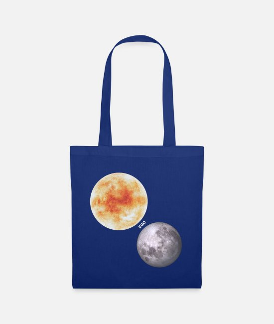Full Moon Bags & Backpacks - Ego - Tote Bag royal blue