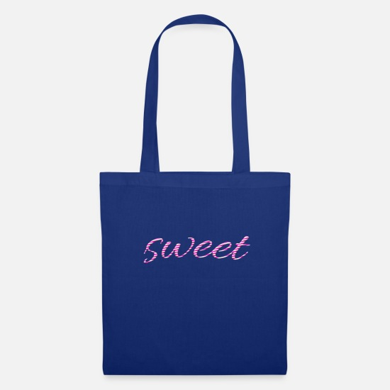 Snack Bags & Backpacks - sweet - Tote Bag royal blue