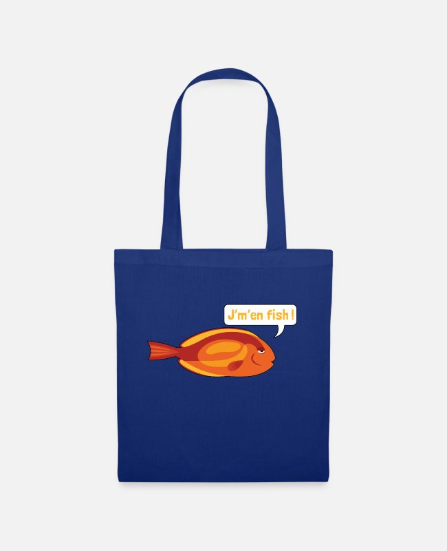 Naughty Bags & Backpacks - JM IN FISH 2 - Tote Bag royal blue