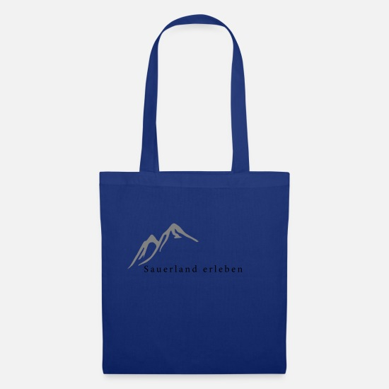 Sauerland Bags & Backpacks - Experience Sauerland - Tote Bag royal blue