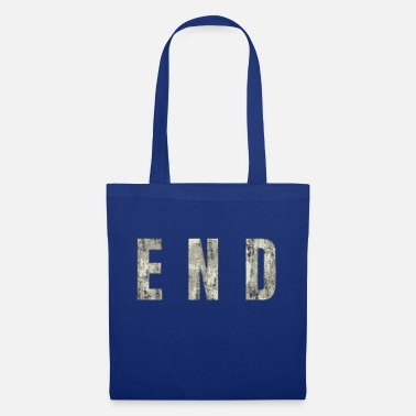 End END - The End - Tote Bag