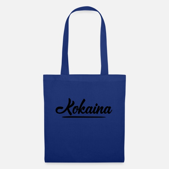 Cocaine Bags & Backpacks - Kokaina - Tote Bag royal blue