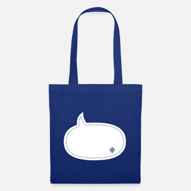 Speech Balloon speech balloon patch - Tote Bag