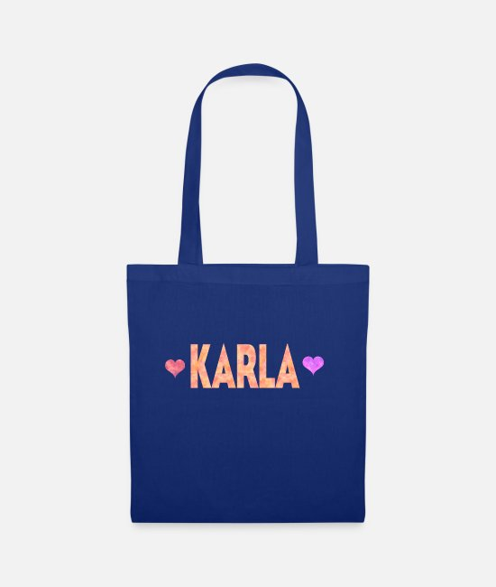 Karla Love Bags & Backpacks - Karla - Tote Bag royal blue