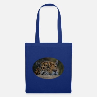 Msvrvisual Jaguar Peeking Over The Wall - Tote Bag