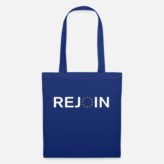 Eu Bags & Backpacks - Rejoin EU White - Tote Bag royal blue