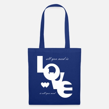Love is all you need Love Valentine's Day bright 7 - Tote Bag