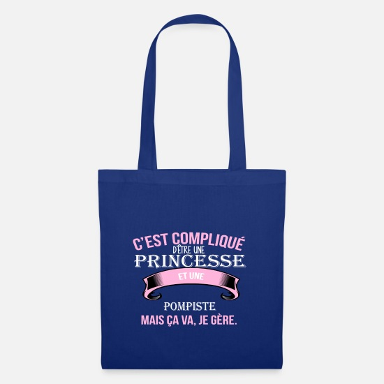 Career Bags & Backpacks - Gas station attendant - Tote Bag royal blue