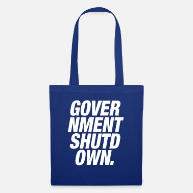 Government GOVERNMENT SHUTDOWN - Tote Bag