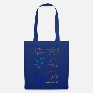 Continent Continents - Tote Bag