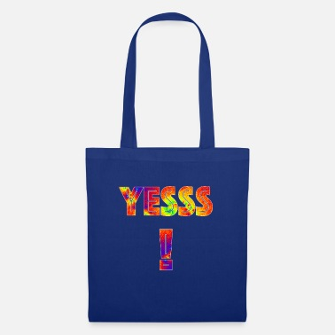 Yes We Can Yess! Art in the word Gift nerd trend style - Tote Bag