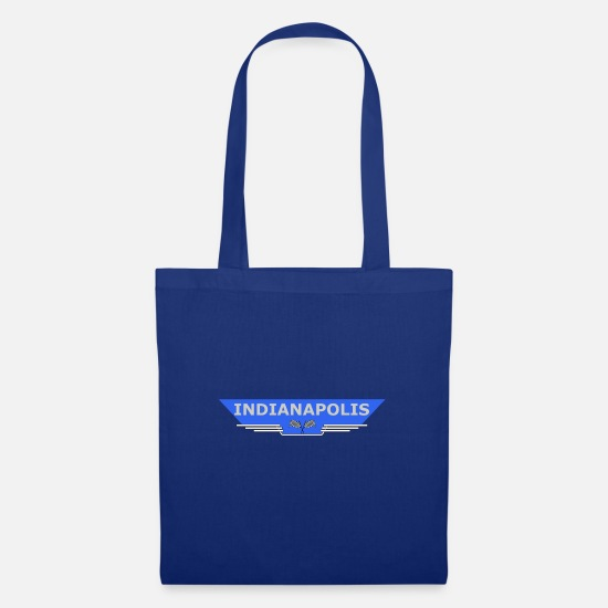 Motor Bags & Backpacks - Indianapolis flag - Tote Bag royal blue