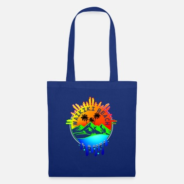 Palm Trees Waikiki Beach - Tote Bag