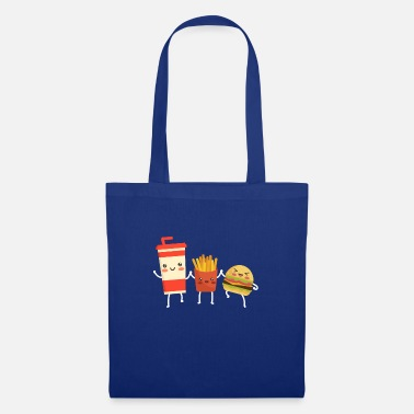 Fries Hamburger Cola are best friends - Tote Bag