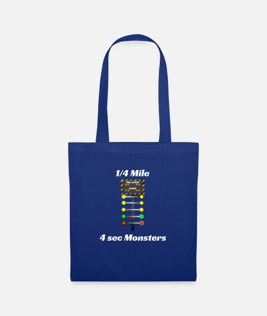 Creature Bags & Backpacks - Drag father son motor sport gift - Tote Bag royal blue