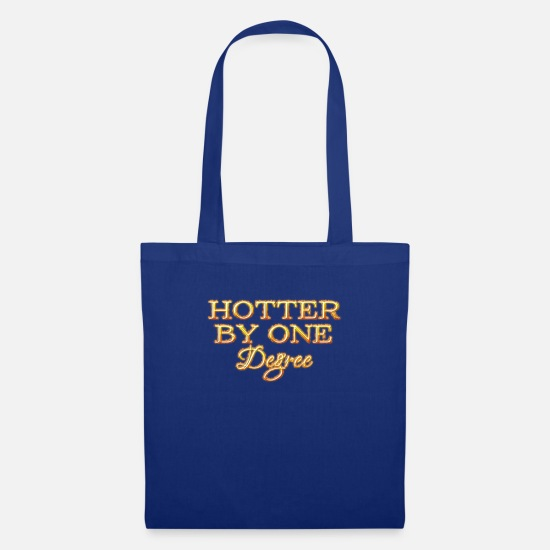 Cool Bags & Backpacks - 1 degree hotter - Tote Bag royal blue