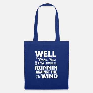 Gear Cute running against the wind gift - Tote Bag