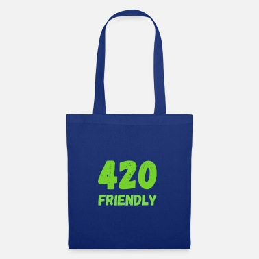 420 2018 420 Friendly - Grass Ween Kiffen hemp gift - Tote Bag