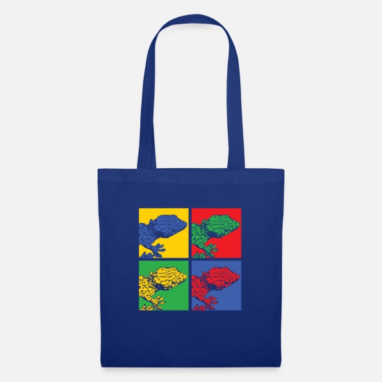 Gift Idea Bags & Backpacks - Pop Art Gecko - Tote Bag royal blue