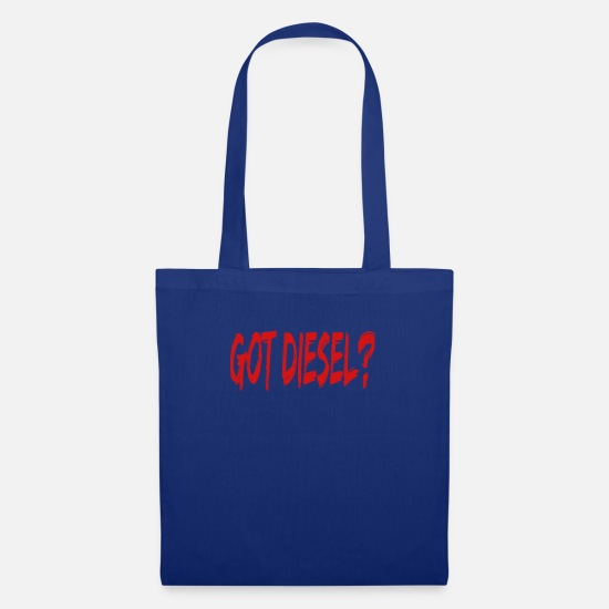 Diesel Bags & Backpacks - Got Diesel? - Diesel mechanic diesel vehicle - Tote Bag royal blue