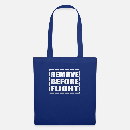 Flight Bags & Backpacks - remove before flight - Tote Bag royal blue