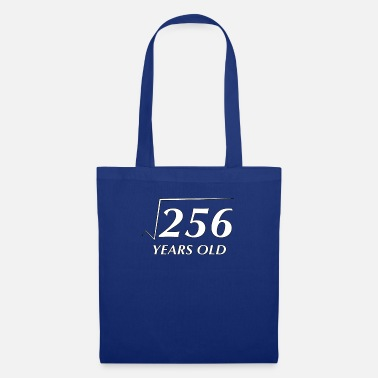 Square Square Root of 256 16 Years Old Birthday - Tote Bag
