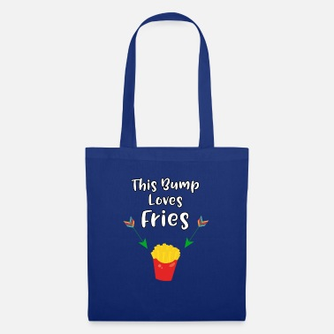 Craving Fries This Baby Bump Loves Fries Funny Pregnancy - Tote Bag