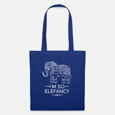 Elefante Elefante elefante favorito animal regalo de la selva - Bolsa de  tela 44c3fc11fff