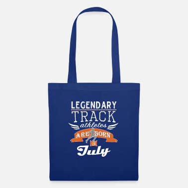 Christianity Legendary Track Legends are born in July boys - Tote Bag
