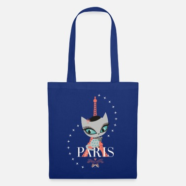 Pussy Deluxe Eiffel Tower - Tote Bag
