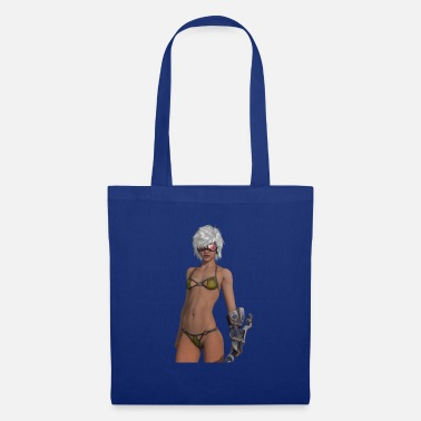 Girl SiFi girl - Tote Bag