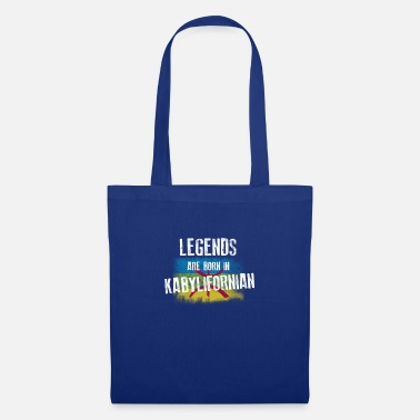 Legends are born in kabylifornian - Sac en tissu