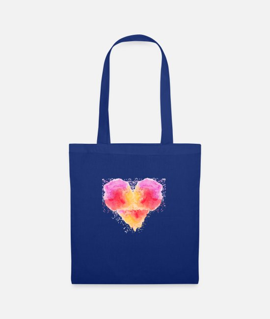 Artist Bags & Backpacks - stylish heart - Tote Bag royal blue