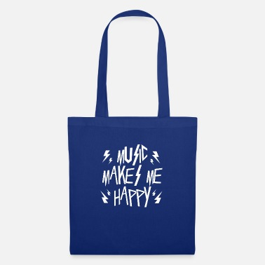 Mp3 Music makes me happige - Tote Bag