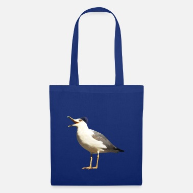 Seagull with cap - Tote Bag