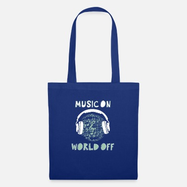 music on world off - Tote Bag