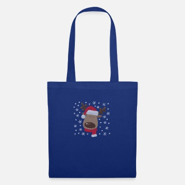 Reindeer Ugly Christmas Design. Super sweet. - Tote Bag