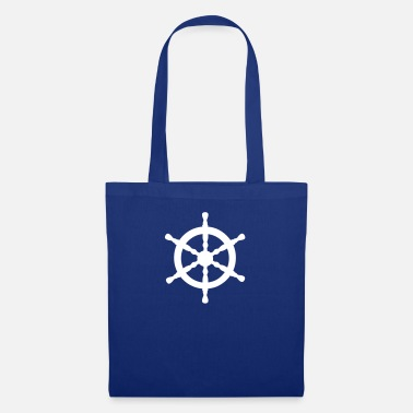 Nautical Nautical Wheel - Tote Bag