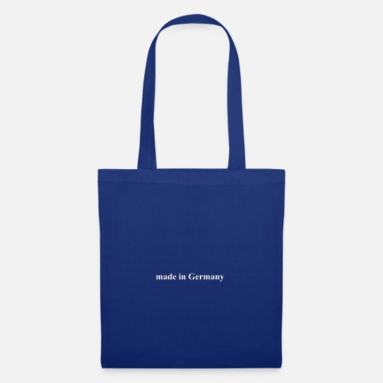 Made In Germany Bags & Backpacks - made in Germany - Tote Bag royal blue