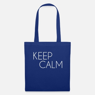 Keep Calm white - Tote Bag